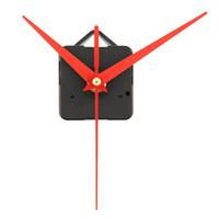 Quartz Clock Movement Mechanism Parts New Replacing DIY Essential Tools Set with Red Hands Quiet Silent
