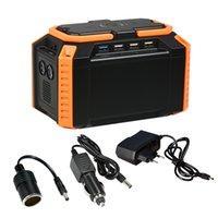 batería de litio de emergencia al por mayor-Power Station portátil Power Bank 100Wh Batería de litio con puertos USB QC3.0 para acampar Viaje a casa Emergencia