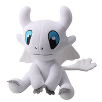 Wholesale New Toy Light Fury Plush Toy How to Train Your Dragon Soft Doll Plush Toy For Kids Christmas Halloween Best Gifts cm