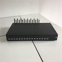 câble sim chine achat en gros de-Modem facile de SMS de modem de la Chine 16 modem de serveur GSM / CDMA / LTE Sim pour envoyer / recevoir des SMS 16 Sim