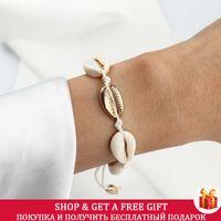 handmade natural seashell bracelet adjustable