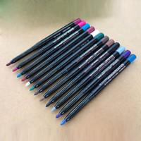 12 göz kalem seti toptan satış-Sıcak Satış 12 Adet / Set Karışık Renkler xmas4u tarafından Yukarı Göz Kalemi Göz Farı Kaş Güzellik Kalem Seti Su geçirmez Kozmetik Gözler Makyaj Araçlar olun