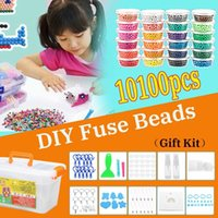 Wholesale toy water slides for sale - Group buy New d Puzzle Water Mist Magic Bead Craft For Animal Molds Diy Hand Making Puzzles Toys Spell Replenish Beans Q190530