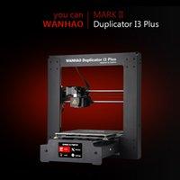 venta de i3 al por mayor-Wanhao 3D i3 duplicador de impresoras y control de Marcos 2, nivelación automática cama y reanudar la venta directa de impresión / fábrica y apoyo