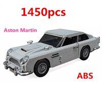 bloques de construcción set coches al por mayor-En Stock LEGO Technic Serie 10262 Aston Martin DB5 Set Building Blocks niños de los ladrillos modelo de coche juguetes de los regalos Compatible