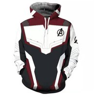 Wholesale men movie costumes online - hot Marvel The Avengers Endgame Quantum Realm Cosplay Costume Hoodies Men Slipover sweatshirt Jacket Superhero Loose and comfortable S XL