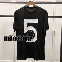 c0447a66 Spring Summer 2019 Luxury Europe Paris Coco 5 Flock Printing High Quality  Tshirt Fashion Men Women T Shirt Casual Cotton Tee Top