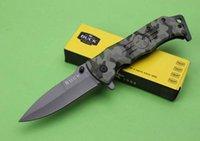 katlanır taktik katlanır bıçaklar toptan satış-taktik katlanır EDC av bıçağı kamp sağkalım taktik askeri bıçak savunmada açık BUCK DA-84 pratik Taktik bıçak
