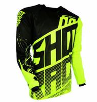 Wholesale jersey bikes 6xl resale online - 2019 SHOT Motorcycle Jerseys Moto XC GP Mountain Bike Motocross Jersey XC T Shirt Clothes XS TO XL Long Sleeve P