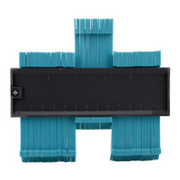 ingrosso misuratori di misura-5inch profilo profilo calibro piastrelle laminato piastrelle bordo modellatura del legno misura righello contorno ABS calibro duplicatore supporto all'ingrosso