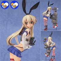 kits de garaje de anime al por mayor-¡¡¡Gran venta!!! Figura de acción Anime Kan Colle Colección Kantai Shimakaze Destructor de figuras Figura sexy Juguetes Kits de garaje Brinquedos
