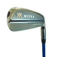 forja de hierro al por mayor-Nuevos palos de golf Hierros de golf MiURA Limited 4-9P hierros FORJADOS Juego de eje de acero o grafito R o S Eje de palos Envío gratis