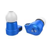v2 kabel großhandel-Yinyoo V6 2BA + 1DD Hybrid In-Ear-Kopfhörer Knowls BA-Treiber HIFI DJ-Monitor-Kopfhörer mit abnehmbarem 2PIN-Kabel Yinyoo ASH / V2