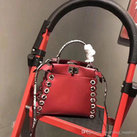 Wholesale wrist strap handbag for sale - Group buy Handbag Luxury Handbags Designer Bags New Calfskin Monochrome Handbag Leather Wrist Single shoulder Slant Strap wide Shoulder Bag