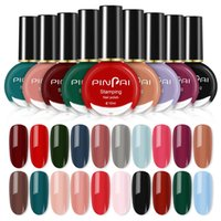Wholesale polish spring water resale online - Pinpai ml Peelable Water Based Nail Art Glitter Polish Fast Dry Easy Remover Nagellak Manicure Color Paint Vernis Nail Lacquer