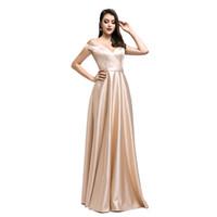 robes de soirée designer arabe achat en gros de-2019 robes de soirée scintillantes brillantes yousef aljasmi robe de demoiselle d'honneur sexy au large de l'épaule robe de bal arabe de dubaï Designer Occasion Robe