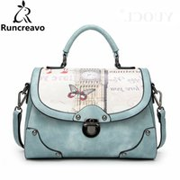 Wholesale butterfly designer handbags for sale - Group buy 2018 Crossbody Bags For Women Leather Handbags Luxury Handbags Women Bags Designer Butterfly Printing Shoulder Bag Sac A Main