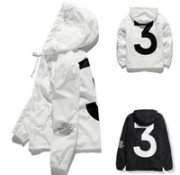 erkekler giyim xxl toptan satış-Casual Tasarımcı Erkekler Ceket Kaban Güneş Kremi Erkek Giyim Ceketler Mektubu Baskılı Yaka Kapüşonlu Siyah Rüzgarlık Streetwear S-XXL Ile Tops