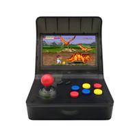 consola de juegos 4.3 al por mayor-Nueva SFC MD GBA Consola de juegos retro arcade Máquina de juegos A8 3000 Juegos clásicos Soporte de tarjeta TF Expansión Control de gamepad Control AV Salida 4.3