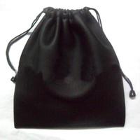 su geçirmez çanta kulaklık toptan satış-Siyah Büyük Kapasiteli Su Geçirmez Koruyucu Kılıf Depolama PU Deri Kulaklık Çanta Büyük Kafa Kulaklık için Çanta Taşıma çantası