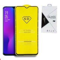 protector de pantalla de cristal iphone al por menor al por mayor-Embalaje de venta al por menor Cubierta completa 6D 9D Protector de pantalla de vidrio templado AB Pegamento de borde a borde para IPHONE XR XS XS MAX 6 7 8 MÁS 200 UNIDS / LOTE