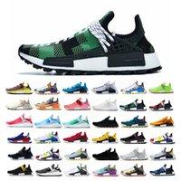 mens yaz ayakkabıları spor ayakkabıları toptan satış-2019 NMD insan ırkı Erkek Trail Running Ayakkabı Pharrell Williams HU Tr Runner Rahat Moda Işık Yaz Erkekler Kadınlar Sneakers