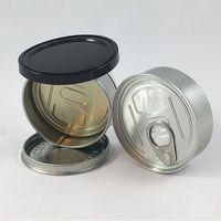 lata de metal al por mayor-vaciar latas latas inteligentes smartbud handed sellada 3,5 gramo tarro brote inteligente para el envasado flor hierba seca