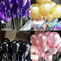 Wholesale inflatable balloon supply resale online - Pearl Latex Balloons Inflatable Multicolor Balloon Novelty Kids Toys Fashion Beautiful Birthday Party Wedding Supplies Decorations TL634