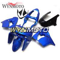 ingrosso zx9r 1998 carenatura-Kit per carenatura completa in plastica ABS per motocicli blu perla per Kawasaki ZX9R ZX-9R Anno 1998 1999 NINJA ZX-9R 98 99 Carena per carrozzeria
