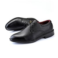 Wholesale dress shoes soft soles for sale - Group buy dewbest Men Leather Shoes Soft Fashion Dress High Quality Basic Casual Comfortable Men Rubber Sole Classic Black Shoes