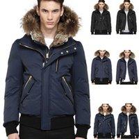 lüks ceketler erkekler toptan satış-Kanada Lüks Kış Sıcak Marka Giyim Ceketler Mac Harvey-F4 Kış Aşağı Bombacı Ceket Kalın erkek Aşağı Ceket Erkekler için Ceket Erkek aşağı ceket