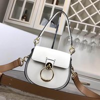 daire sutyen toptan satış-Ünlü omuz çantaları kadın marka gerçek deri zincir crossbody çanta çanta ünlü daire tasarımcı çanta yüksek kaliteli kadın çantası