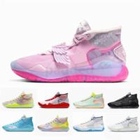 ingrosso perle di kevin durant zia-Nuovo KD 12 Che la zia Pearl scarpe da basket KD12 Kevin Durant XII Mens Sneakers Trainers Size 7-12