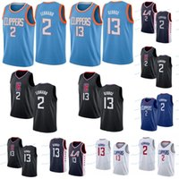 mulher jersey 23 venda por atacado-Kawhi NCAA 2 Leonard Jersey LeBron 23 James Paul 13 George Anthony 3 Davis 2019 Novo Mens Mulheres Juventude Bordado Universidade de Basquete Jersey