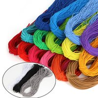 2.5mm Colorful High-Quality Round Elastic Band Round Elastic Rope Rubber Band String Cord Elastic Line DIY Sewing craft Jewelry gift