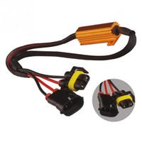 sabit lambalar toptan satış-H11 / H8 Sis Farları Dekoder LED Sis Lambaları Direnç Hattı LED Altın Sabit Direnç