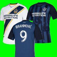ibrahimovic futbol forması toptan satış-YENİ 19 20 IBRAHIMOVIC LA Galaxy forması futbol Tayland Los Angeles Galaxy GIOVANI COLE ALESSANDRINI CORONA futbol takımı üst gömlek 2019 2020