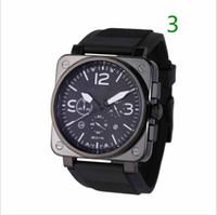 relógio automático venda por atacado-u brl11 Homem sino mecânico automático relógios data de aço inoxidável ross assista homens bang relógios blot relógio de pulso