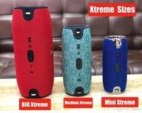 reproductor de mp3 altavoz grande al por mayor-Altavoz Bluetooth Mini Xtreme Media del tamaño grande portable Subwoofer Altavoz inalámbrico con correas reproductor de música MP3 Boom Box
