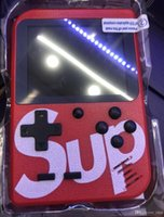 Wholesale kids video games console for sale - Group buy Cheapest SUP Mini Handheld video Game Console Portable bit FC MODEL FOR FC AV Out Colorful LCD Screen Game Player For FAMICOM with box
