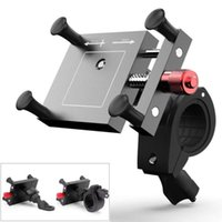 ingrosso manubri cnc-Supporto regolabile per telefono cellulare CNC Specchietto retrovisore moto / Supporto manubrio MTB BMX Road Bike