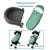 Wholesale stroller for winter for sale - Group buy Baby stroller accessories winter foot muff and foot rest for GB pockit plus pockit Qbit plus stollers Socks or cover