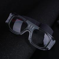 futbol malzemeleri toptan satış-Spor Gözlükler Güvenlik Anti Basketbol Unisex Futbol Koruyucu Gözlük Gözlük Göz Futbol Spor Malzemeleri Gözlük Gözlüğü