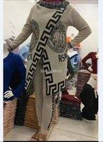 farbige strickjacken groihandel-Neue Farbe Striped Cardigan Jacke + Seiten-Schlitz-dünnes Broad Beinen Hosen-Frauen Früher Herbst Outfit