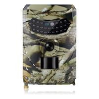 ir led gece görüş kamerası toptan satış-PR-100 12MP IR Gece Sürüm Yaban Hayatı Observer LED Avcılık Kaydedici Su Geçirmez Vahşi Kamera Vahşi-Gözetim Gözetim Kamera