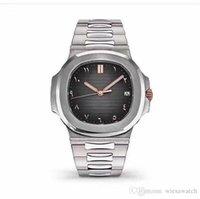 relógios de imitação venda por atacado-Relógios de luxo 41MM Mens Automatic Movement Relógios High Grade Men Relógios de pulso Oval Dial Stainless Steel Band Transparente Voltar