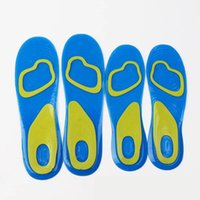 Wholesale foam shoes for men online - Silicone Anti slip Gel Soft Sport Insole Cushion Pad Orthotic Arch Support Massaging Shoes Pads Foot Care For Man Women Foot Care items