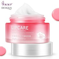 Wholesale skin care moisturizers resale online - BIOAQUA Strawberry Lip Sleeping Mask Hydrating makeup Exfoliator Lips Balm Moisturizer Nourish Natural Lip Plumper Skin Care