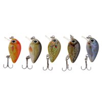 Wholesale vibration fishing lures resale online - 5Pcs Box Mini Fishing Lures Colors Baits cm Vibration Minnow Baits