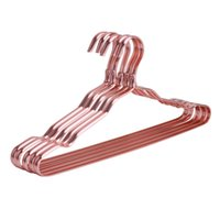 Wholesale american metal coatings for sale - Clothes Hangers Strong Durable Heavy Duty Gold Aluminum Metal Suit Clothes Coat Hangers Pack Gold